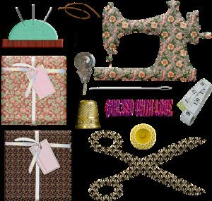 sewing buttons, sewing notions, sewing machine